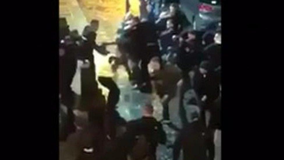 Liverpool street brawl: Ten people arrested