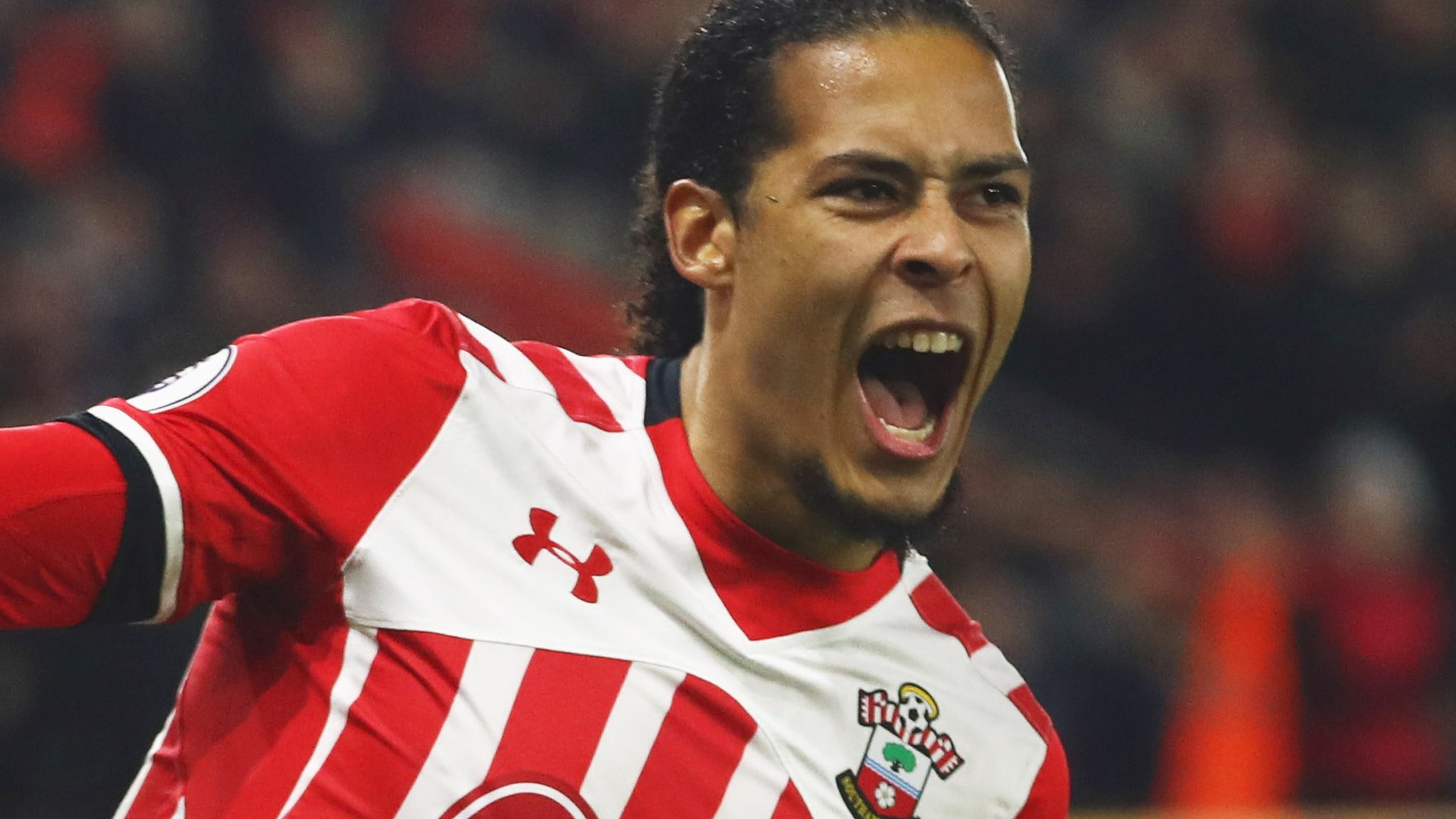 Van Dijk training alone and wants move, says Saints boss
