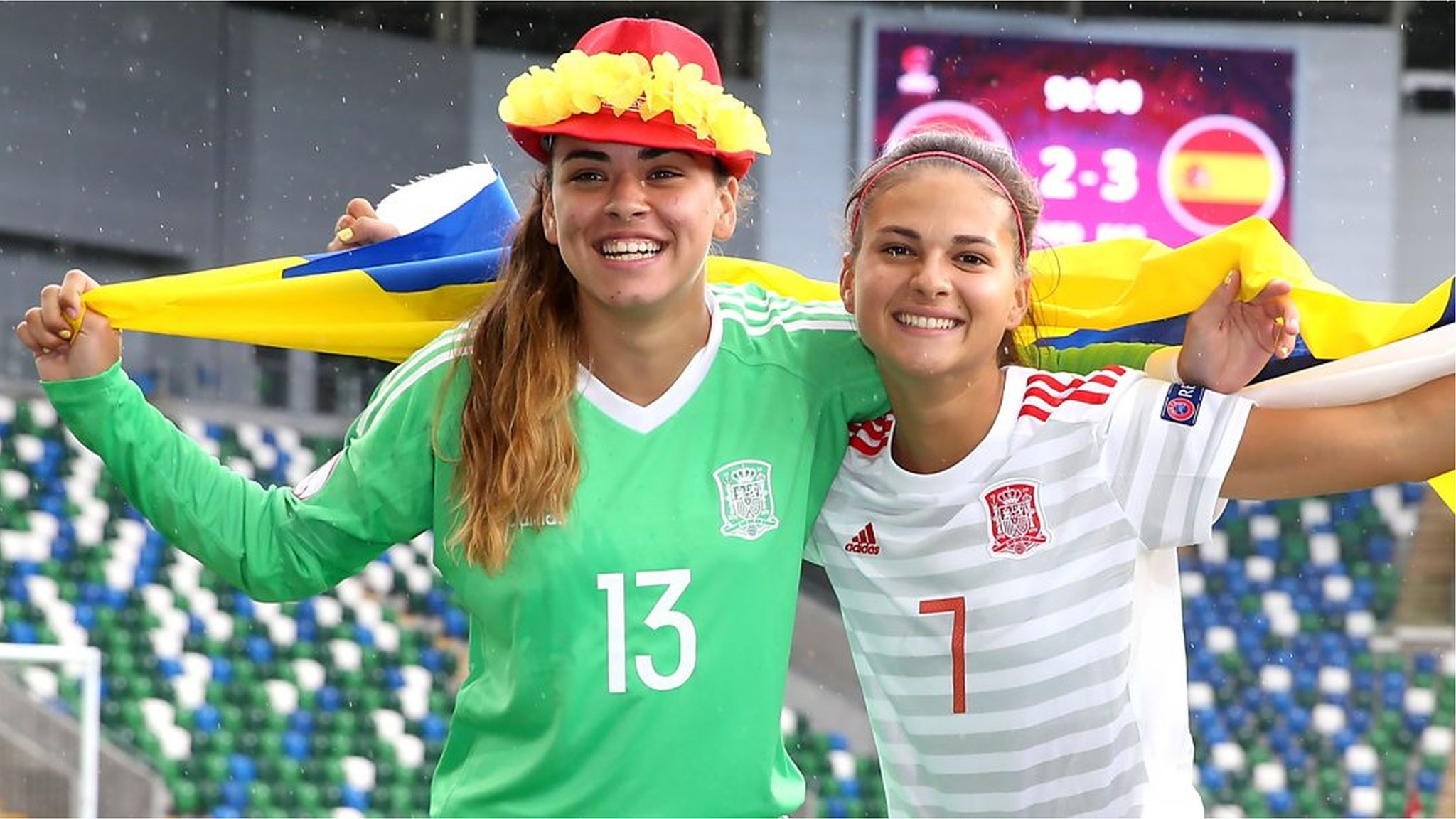 Spain defeat the Netherlands 3-2 in the Uefa Women's U19 semi-finals