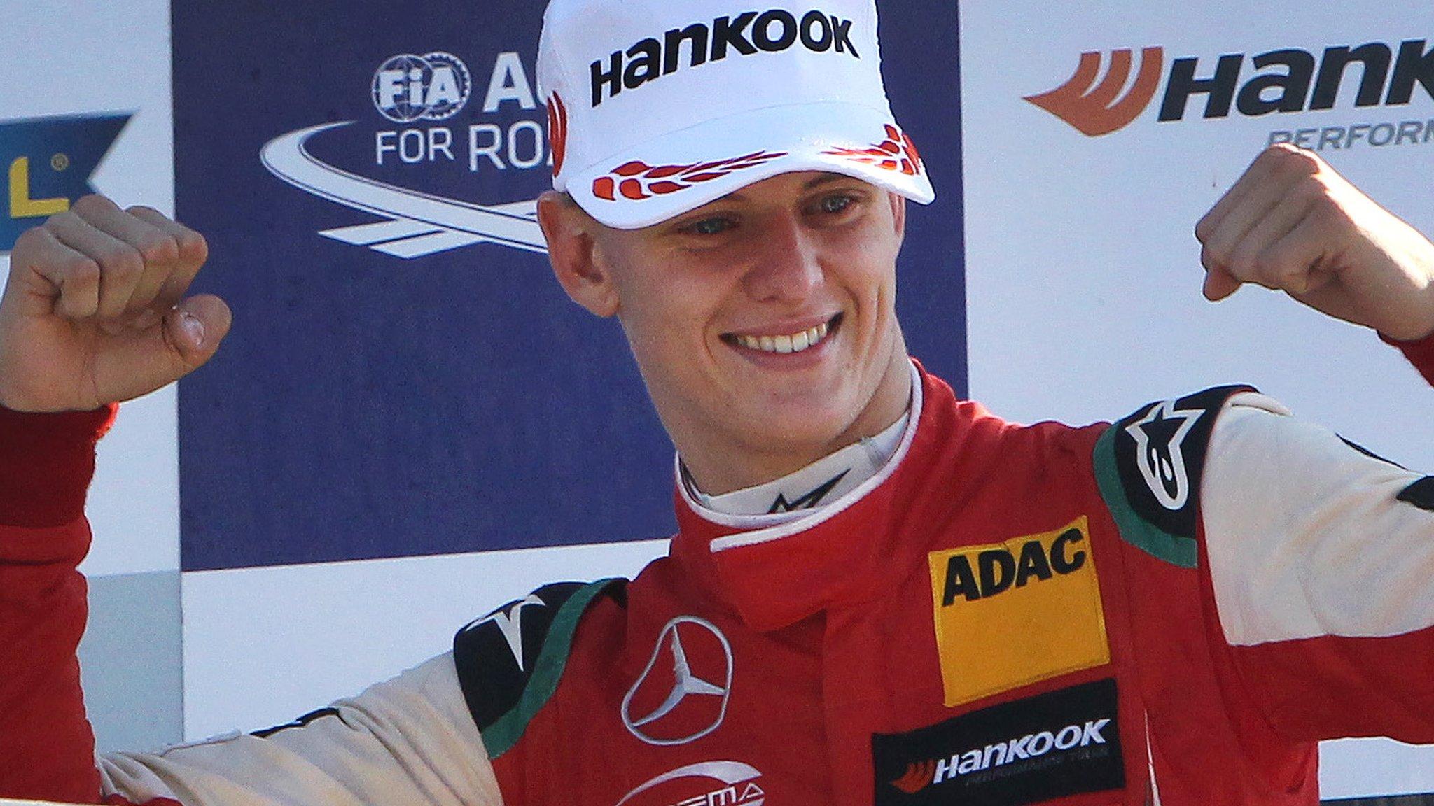 Schumacher Jr wins Ferrari place 'for his talent'