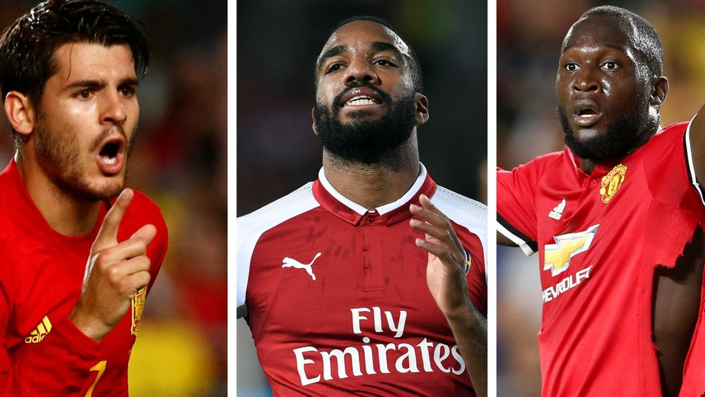 Morata, Lukaku, Lacazette - vote on which striker is the best signing