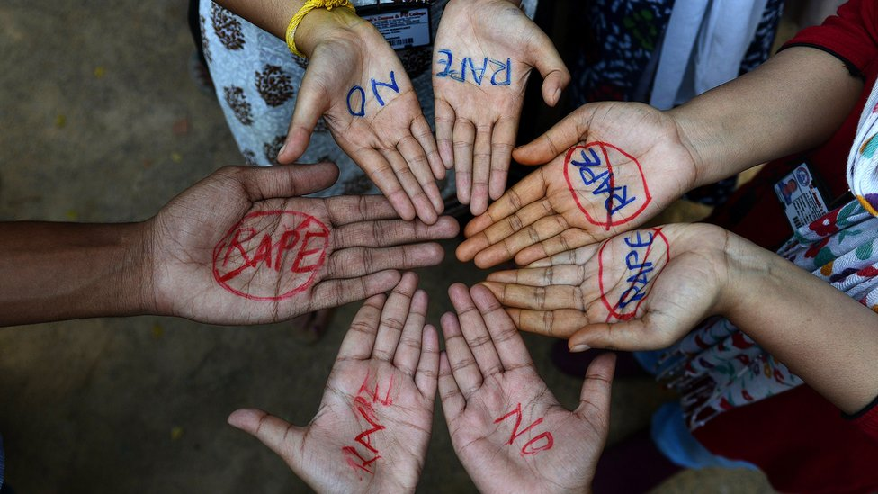 Indian rape victim, 10, and her baby 'doing fine'
