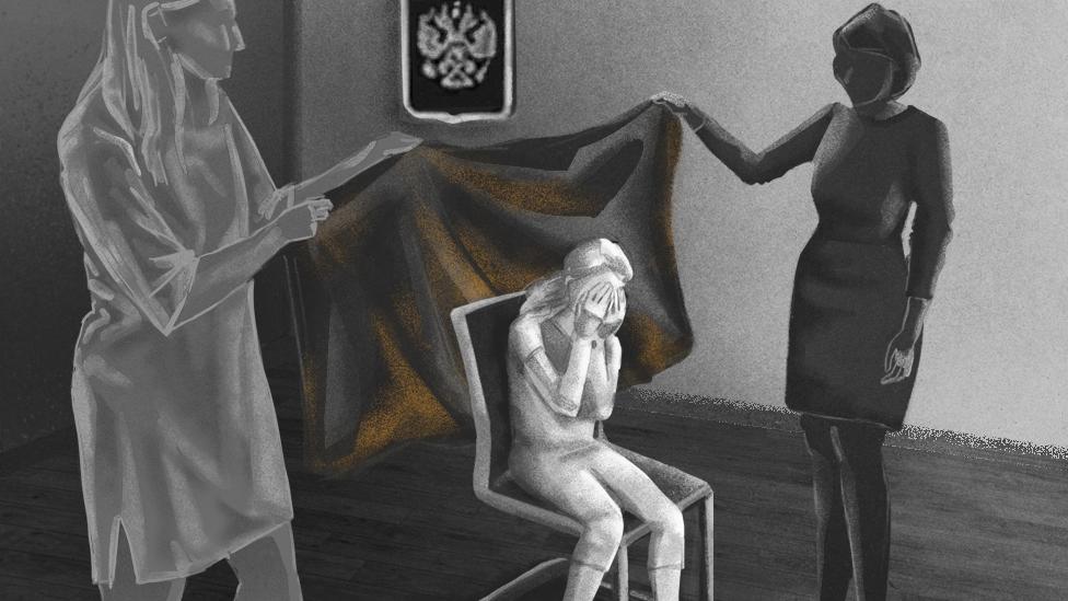 Секс Русских Баб Насилие