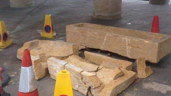 'Priceless' sarcophagus destroyed in Prince Charles's Poundbury development