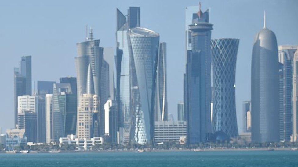 Rascacielos en Qatar