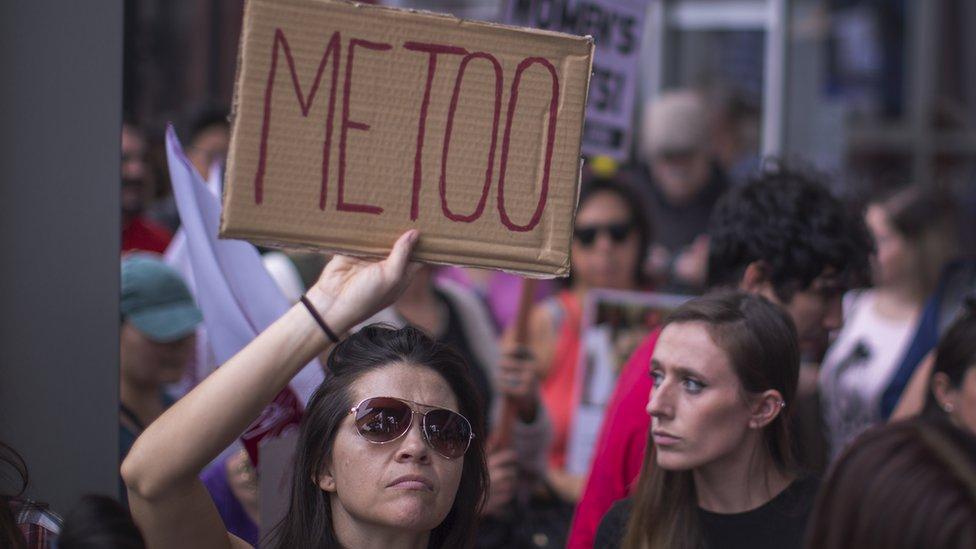 Marcha de la campaña #yotambién en Los Ángeles en noviembre de 2017