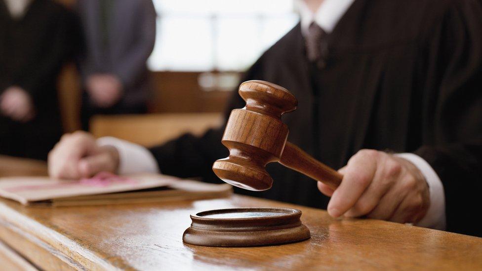 Martillo de la corte