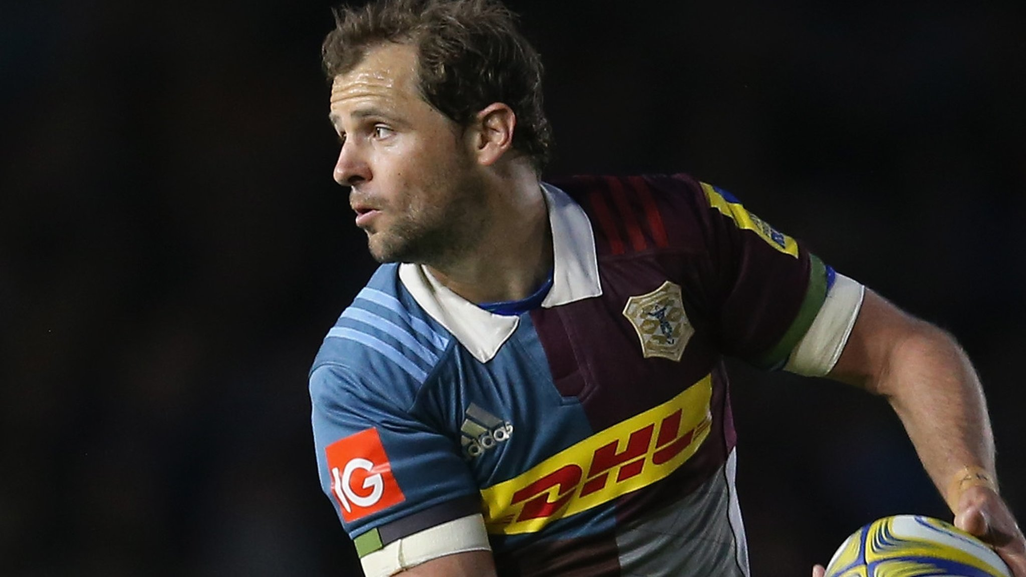 Evans stars on Stoop swansong as Quins beat leaders Wasps