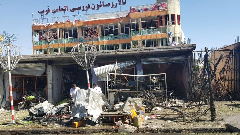 Kabul suicide car bomb: 30 killed in Afghan capital