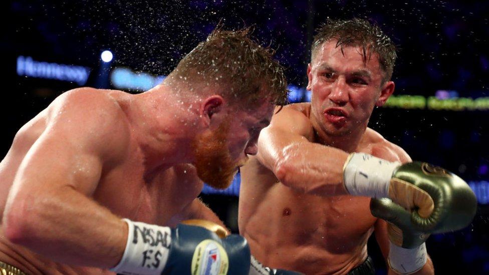 Golovkin-Alvarez, le combat de boxe de l'année