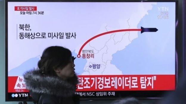 تجارب كوريا الشمالية الباليستية