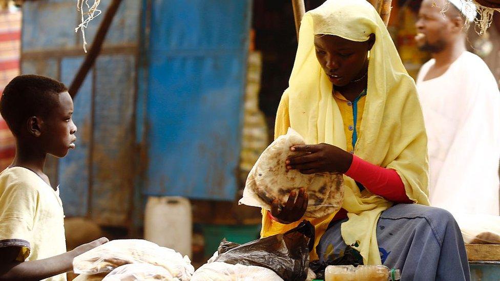 صورة من دارفور