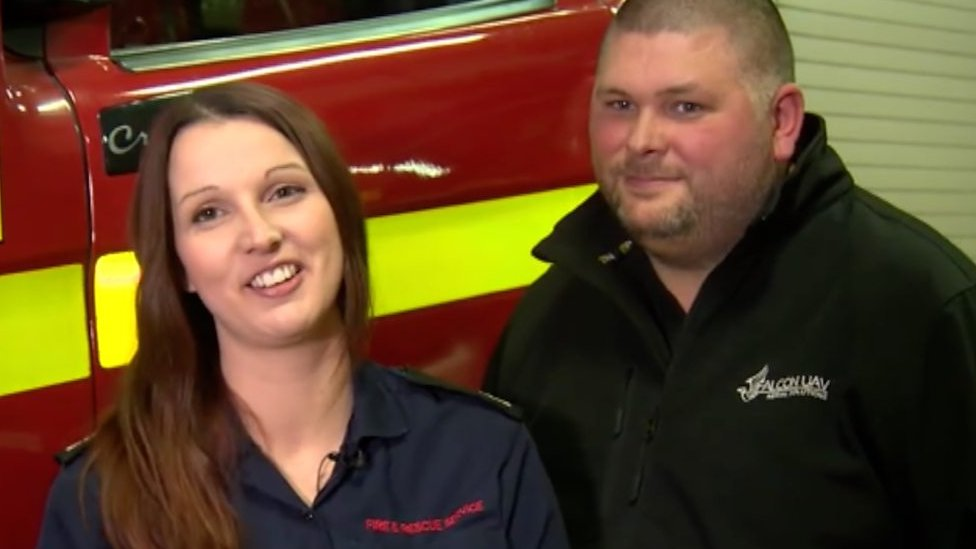 Pop the question: The man who went to a fire station for help