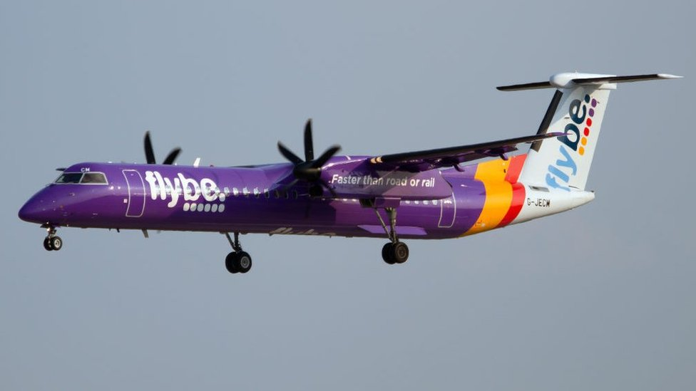 Flybe 'up for sale' weeks after profit warning