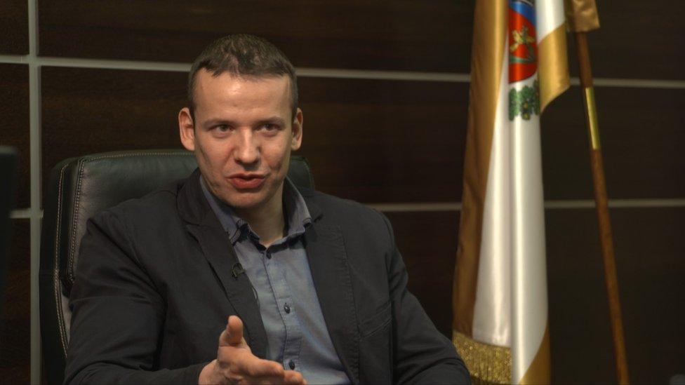 Alcalde Laszlo Toroczkai