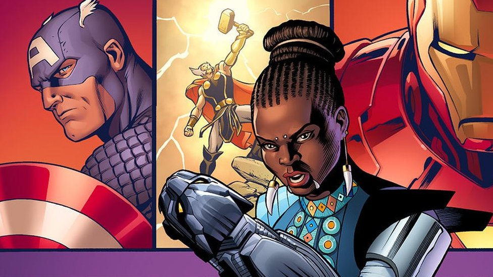 Black Panther's sister, Shuri, gets own Marvel comic series