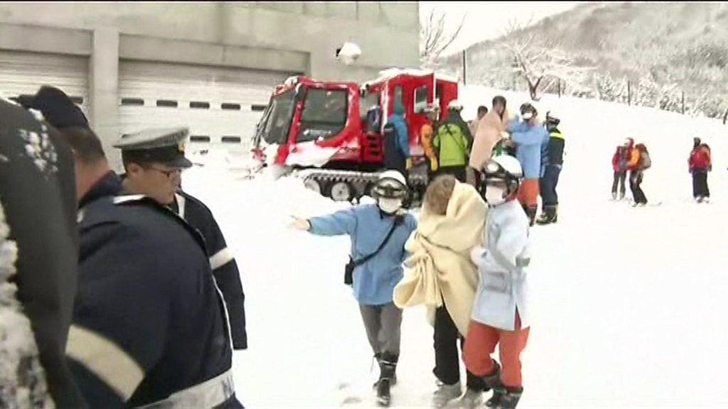 Australian family rescued after night on Japanese mountain