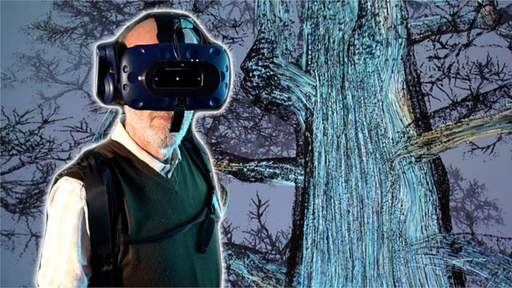 'It's surreal': 80-year-old Ted tries virtual reality for first time