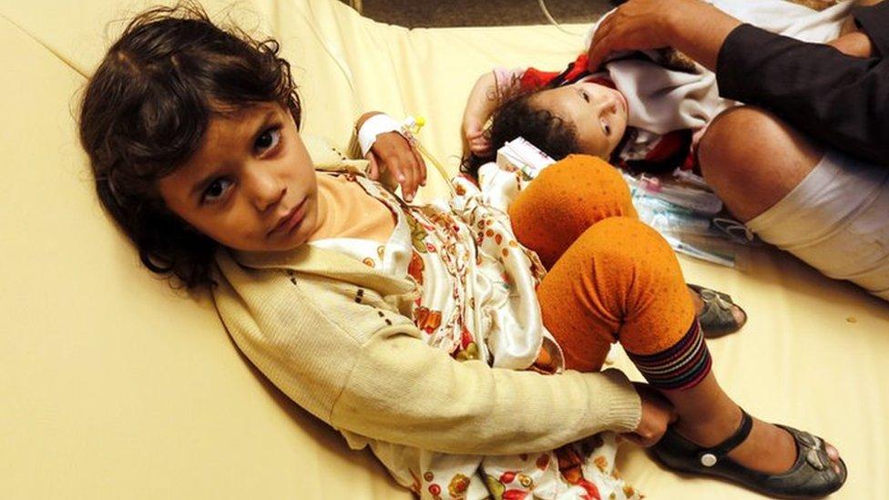 Yemen war: Major cholera epidemic feared, says charity