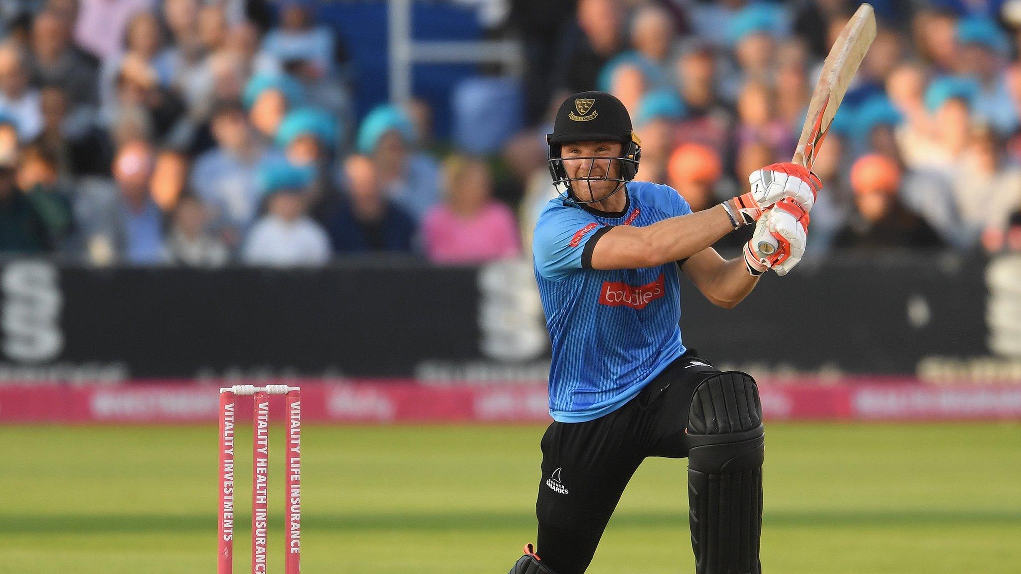 T20 Blast: Rashid, Mills bowl Sussex to win over Glamorgan