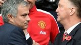 Jose Mourinho (left) and Louis van Gaal