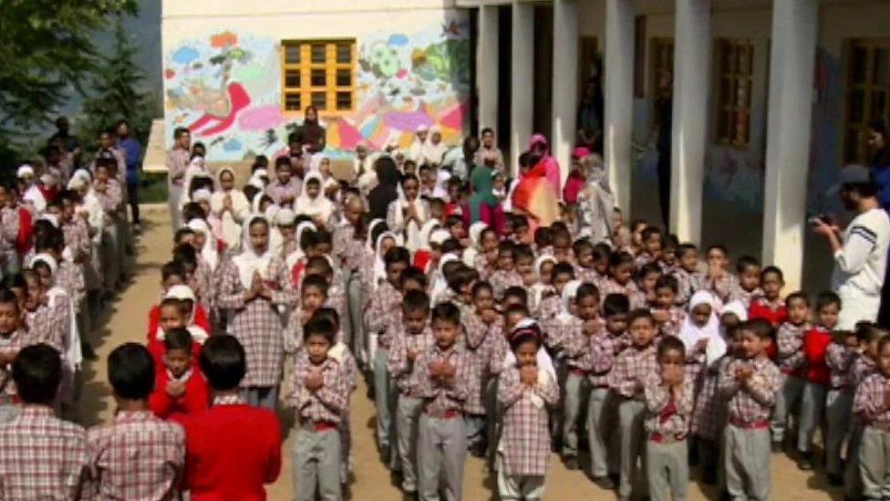 بریسوانا کا ایک غیرمعمولی سکول