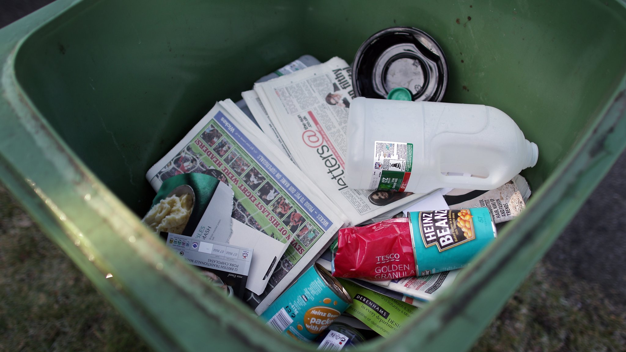 Rejected recyclable waste up 84% in England since 2011, data shows