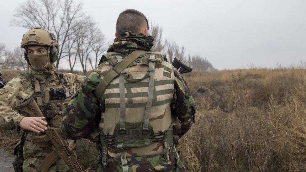 Убийство четырех морских пехотинцев в АТО: подозреваемых задержали
