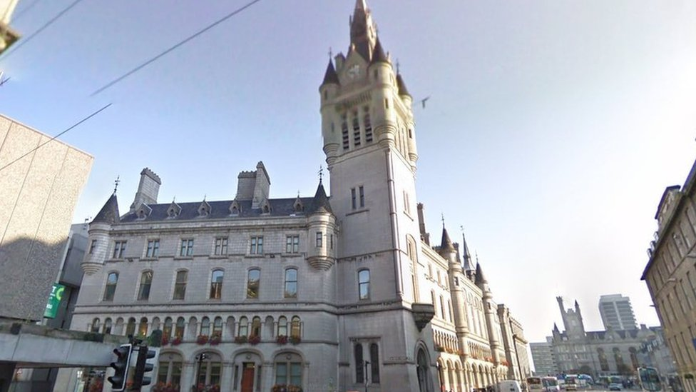Man who escaped from prisoner van outside Aberdeen court arrested