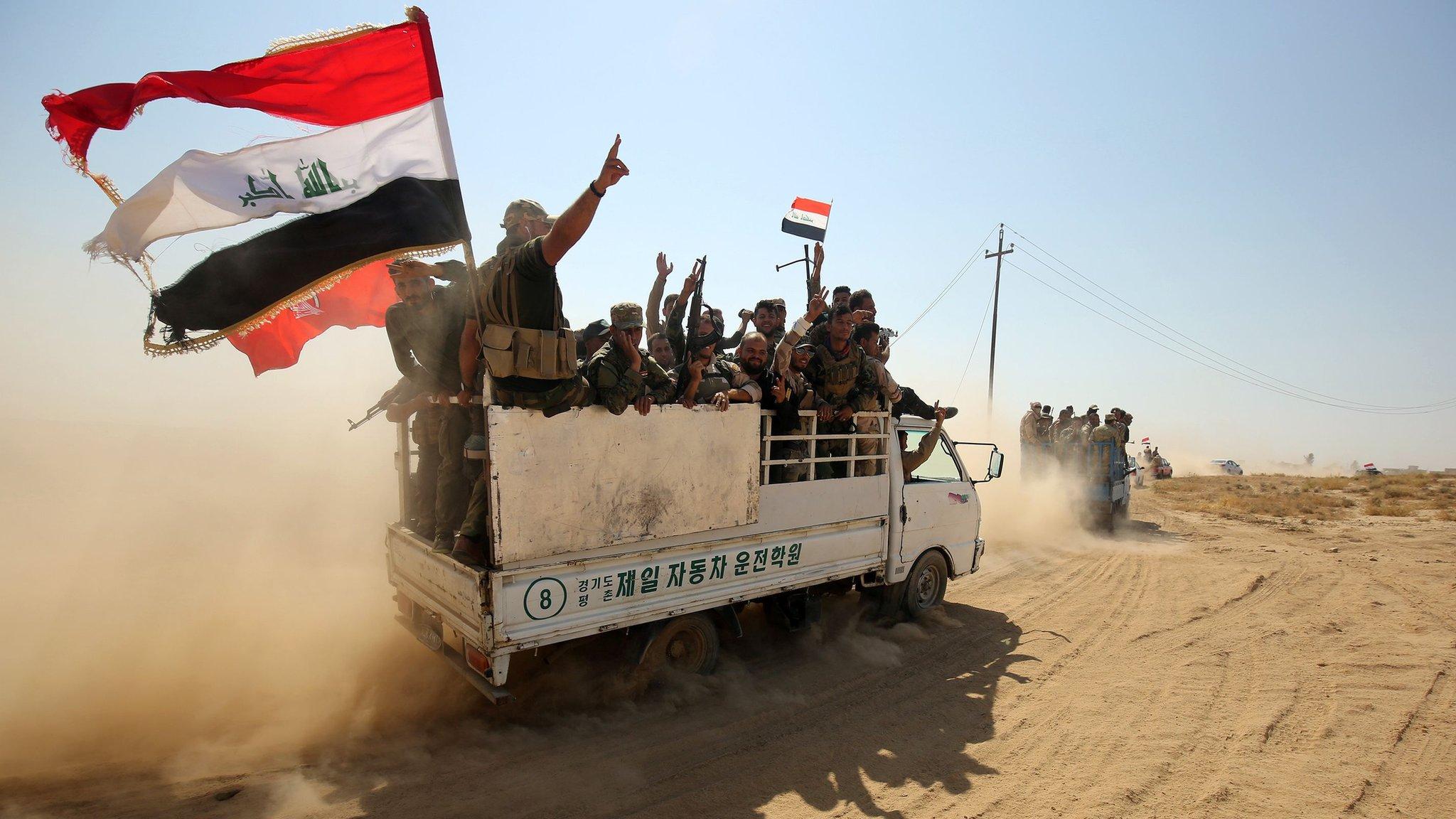 معركة الحويجة: القوات الحكومية العراقية تصل إلى وسط بلدة الشرقاط