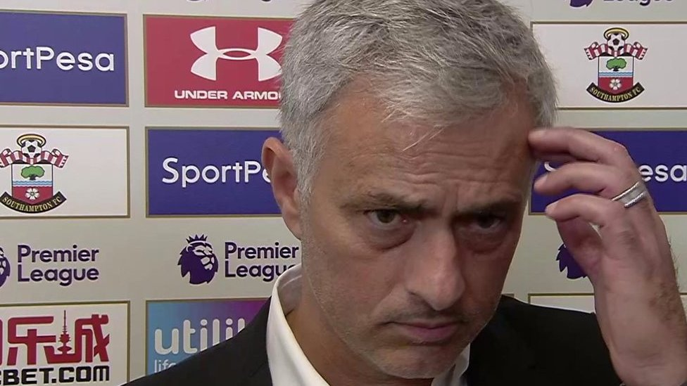 Southampton 0-1 Man Utd: Difficult day against Saints - Jose Mourinho