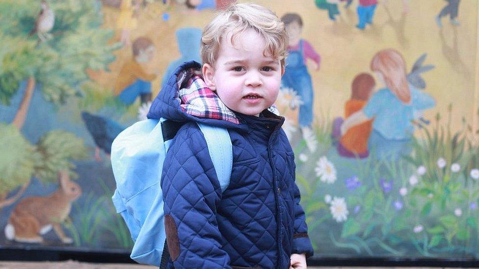 Родители принца Джорджа определились с выбором школы