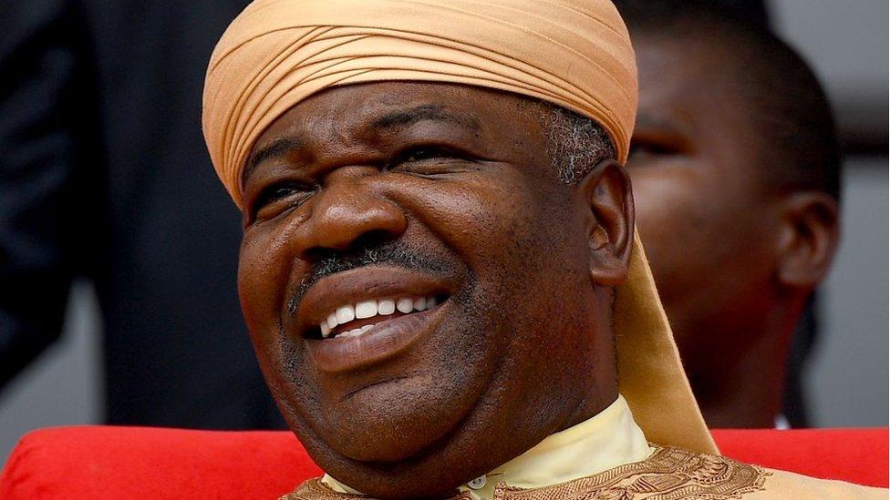 Who is Ali Bongo, president of Gabon?