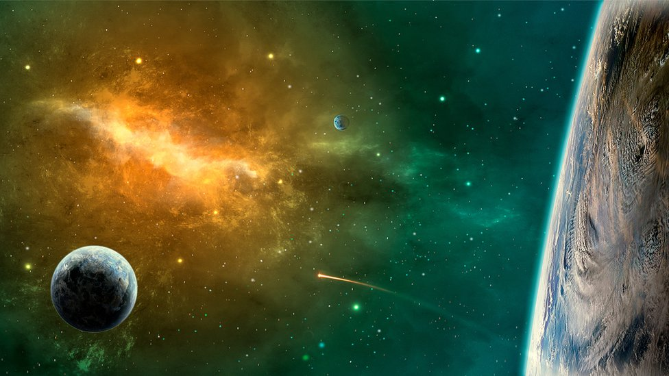 Imagen de Planetas y estrellas en el Universo