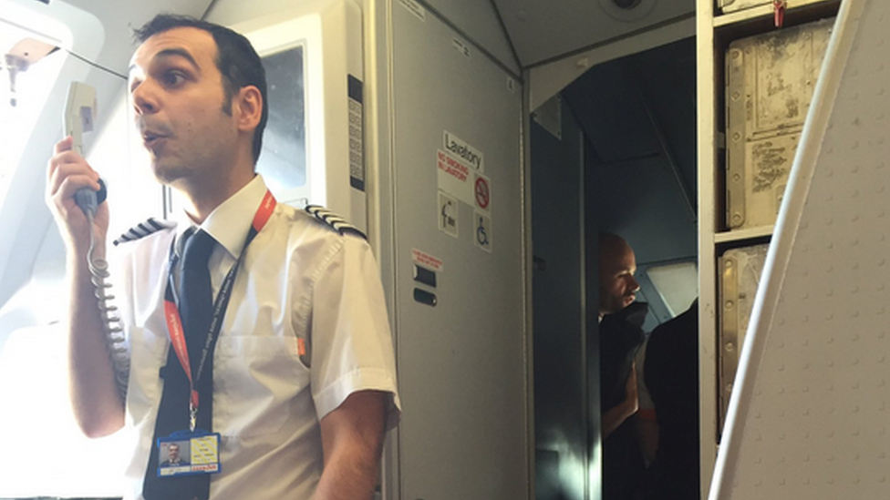 Easyjet: Passengers 'aghast' at crew spat which delayed flight