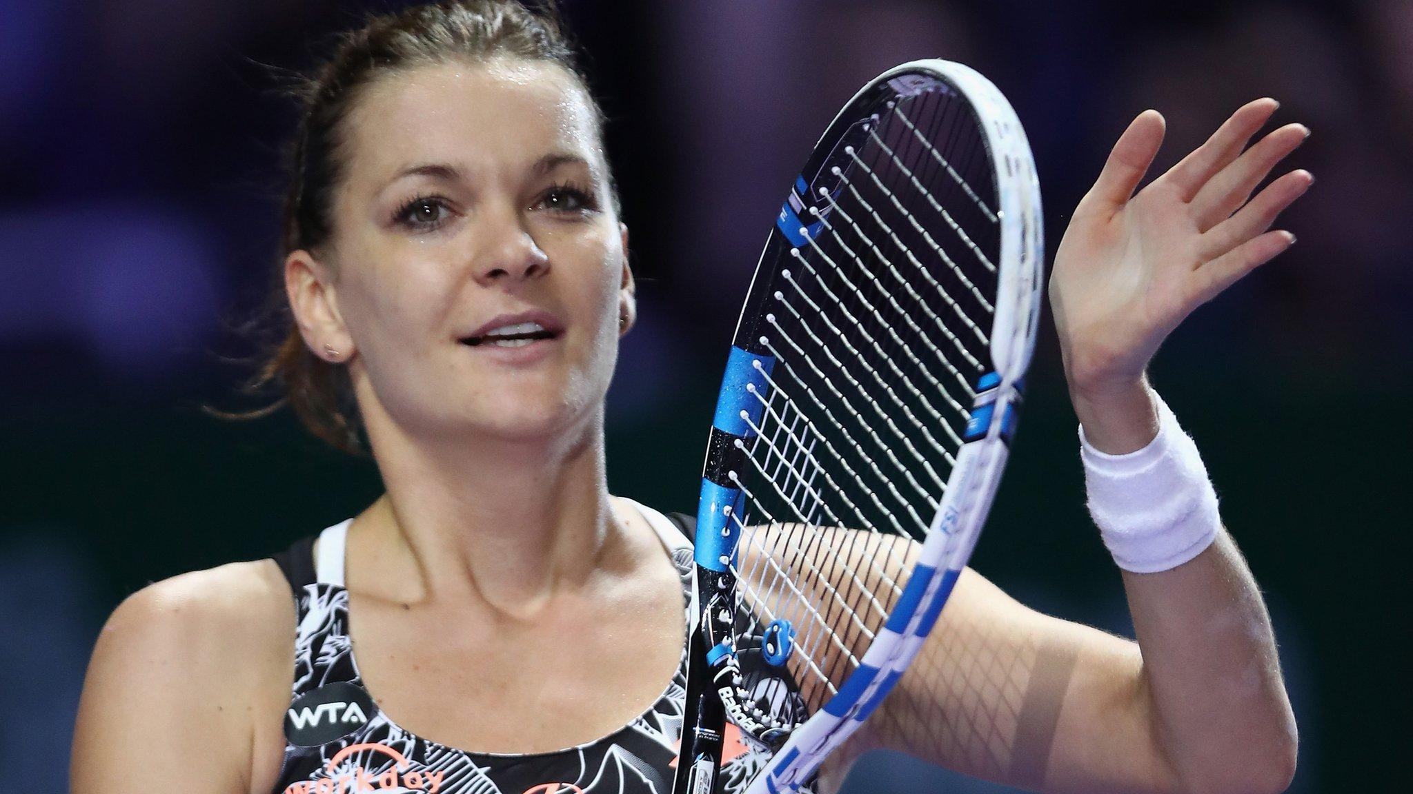 Agnieszka Radwanska to face Angelique Kerber in WTA semis