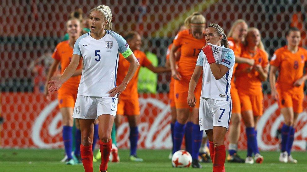 Women's Euro 2017 highlights: Netherlands 3-0 England