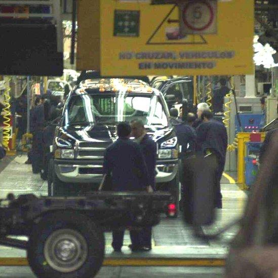 Planta de Chrysler en México