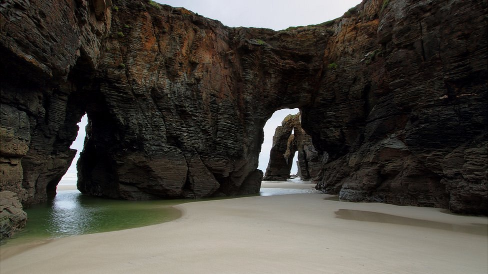 Praia das Catedrais, Galicia, España