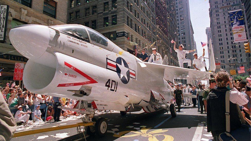 آخر عرض عسكري شهدته واشنطن كان بعد حرب الخليج الأولى 1991