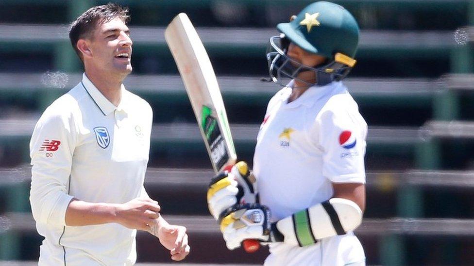 جنوبی افریقہ کا کلین سویپ، تیسرے ٹیسٹ میچ میں پاکستان کو 107 رنز سے شکست