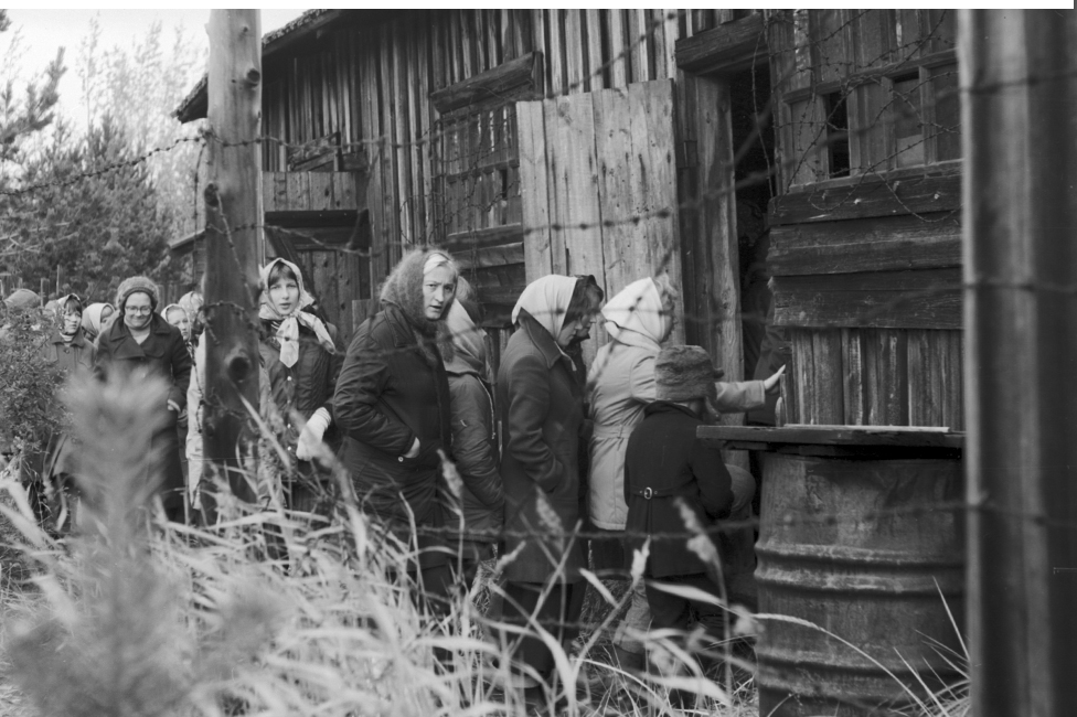 Los ciudadanos soviéticos eran instados a visitar la prisión de Mudyug. (Foto: Library of Congress)
