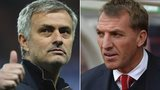Jose Mourinho and Brendan Rodgers