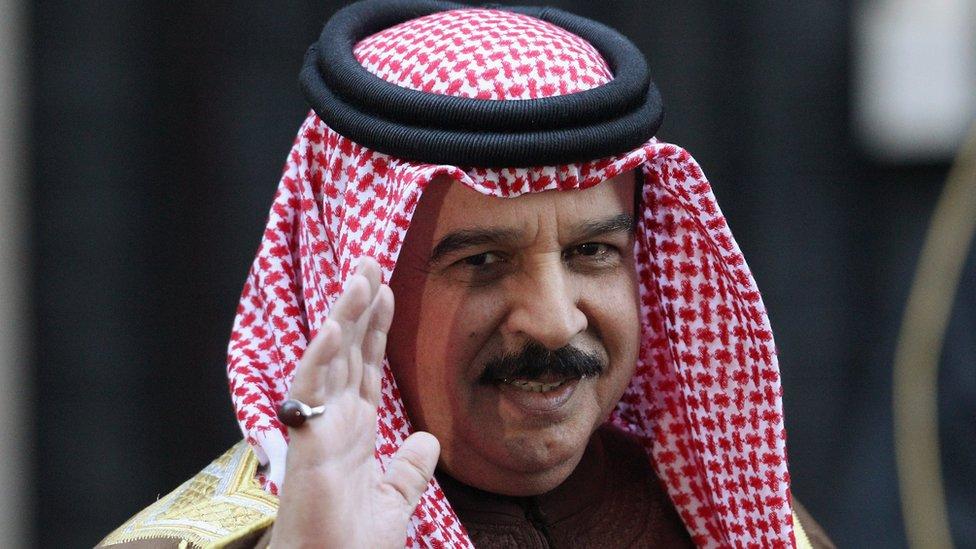 Bahrain's Sheikh Hamad