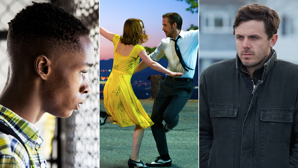 Moonlight, La La Land, Manchester By The Sea