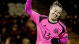 Scotland's Jane Ross scored four goals