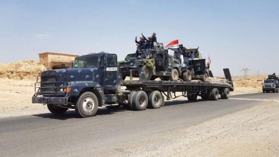 Силы безопасности Ирака начали наступление на