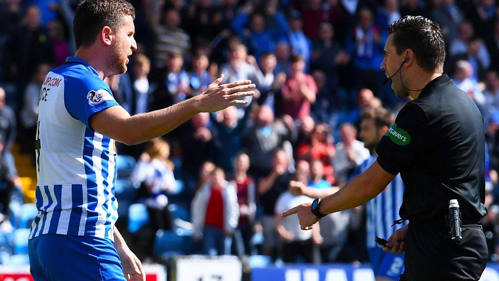 Watch: Alex Bruce wins penalty for Kilmarnock