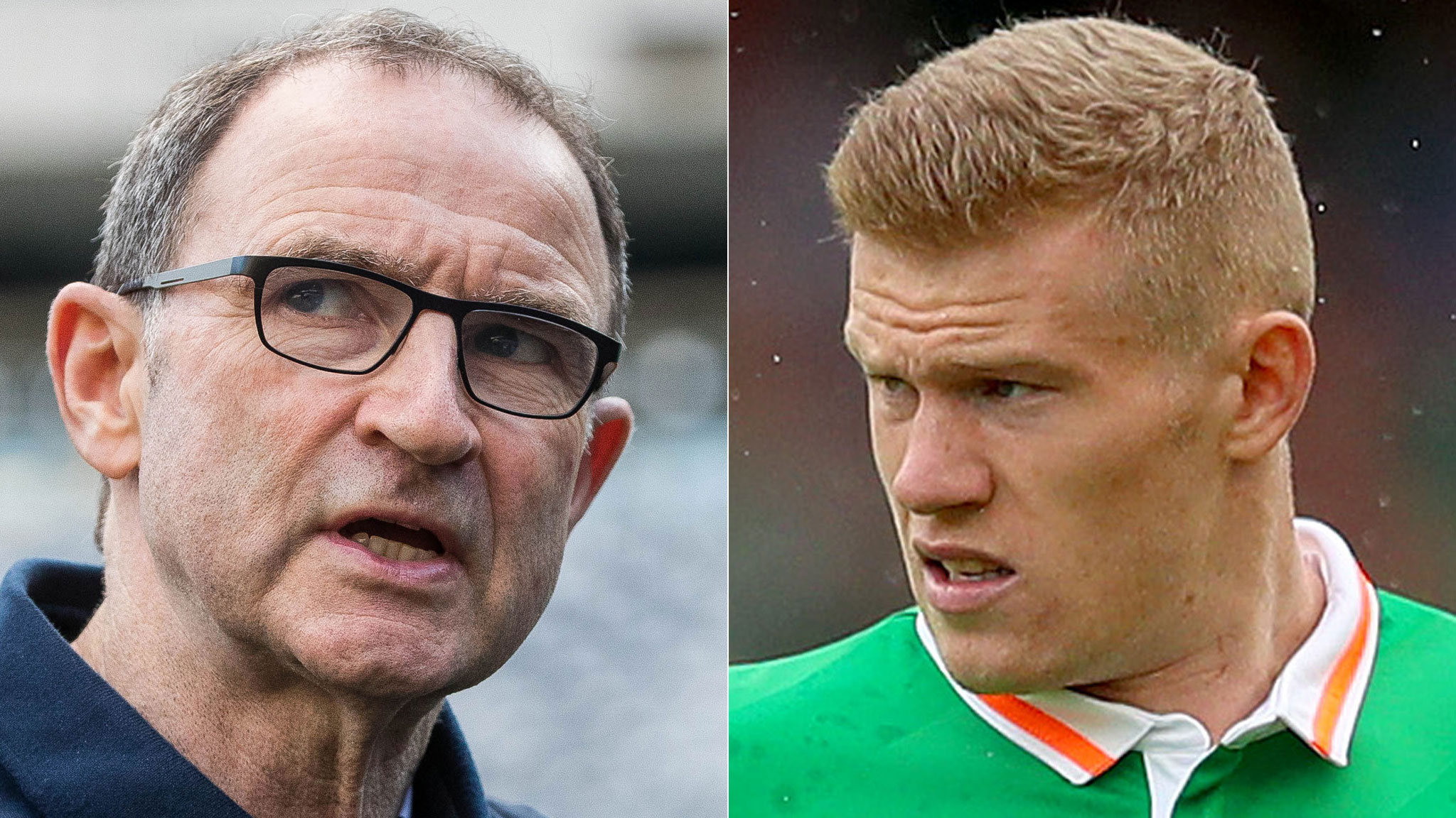 Republic of Irelands ONeill and McClean reprimanded by Fifa