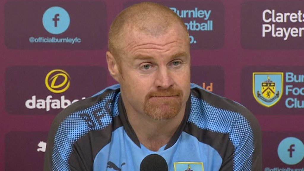 Sean Dyche: Burnley boss 'flattered' by links to Leicester City job